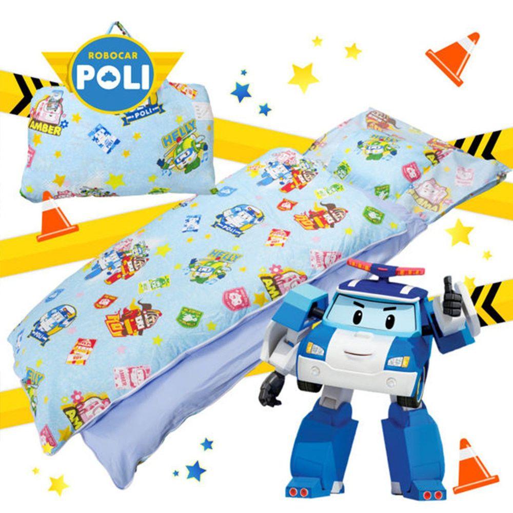 伊尚厚 YSH - 救援小英雄 波力 守護 藍 兒童睡袋-標準型 (120x150 cm)