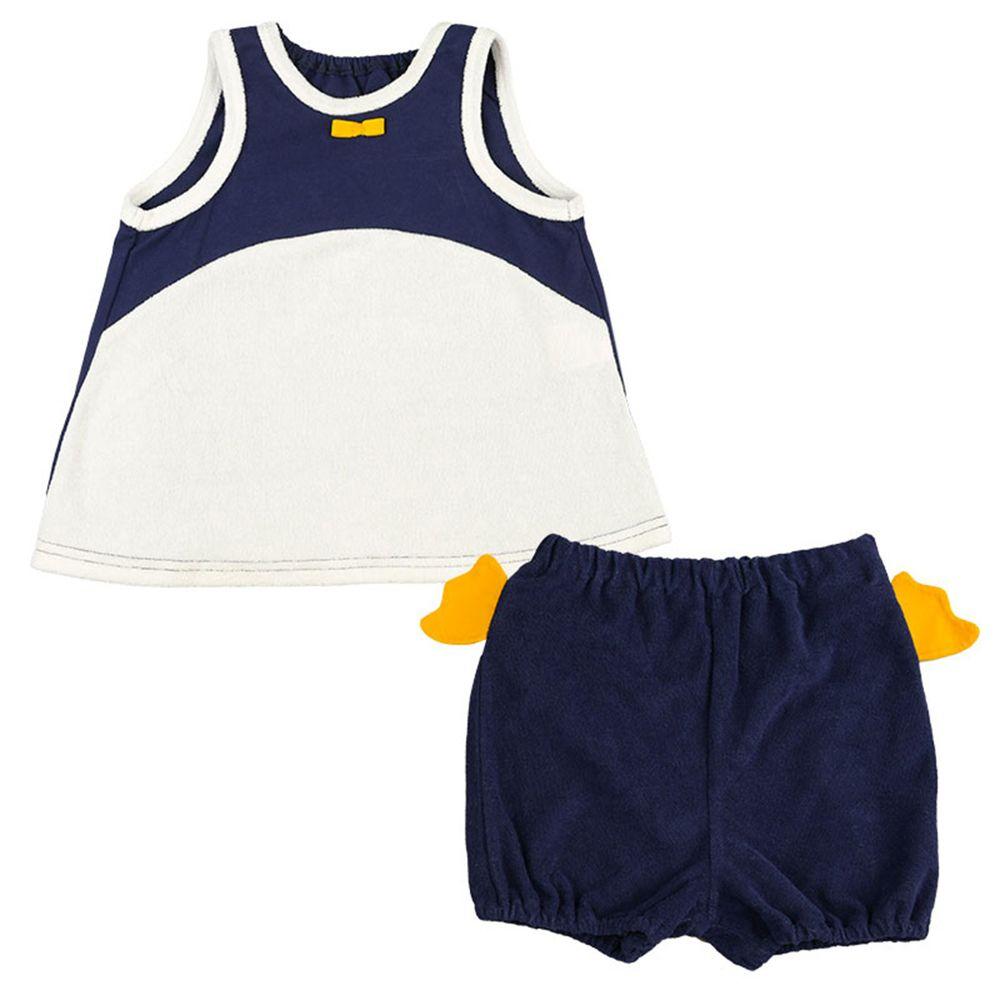 akachan honpo - 趣味套裝-企鵝-深藍色
