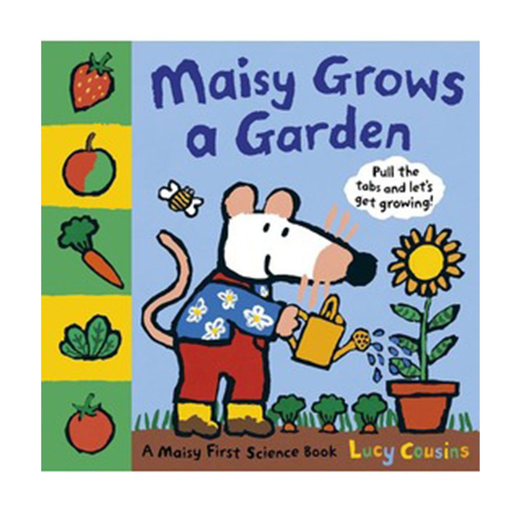 Maisy Grows a Garden 小鼠波波的花園