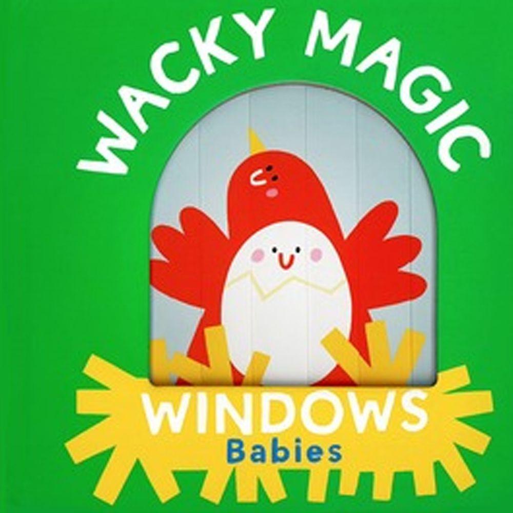 Wacky Windows: Babies 古怪百葉窗書:寶寶學習(厚頁書)