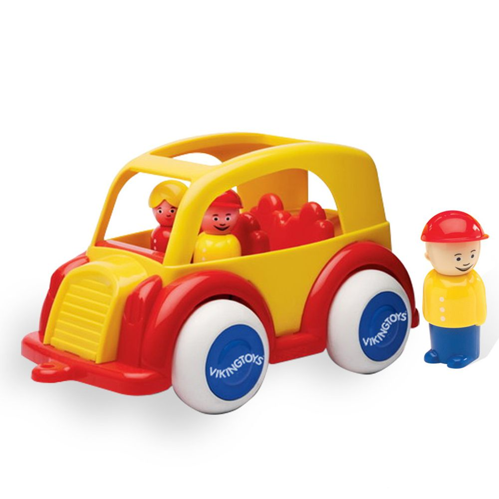 瑞典Viking toys - 私家車(含2隻人偶)-25cm