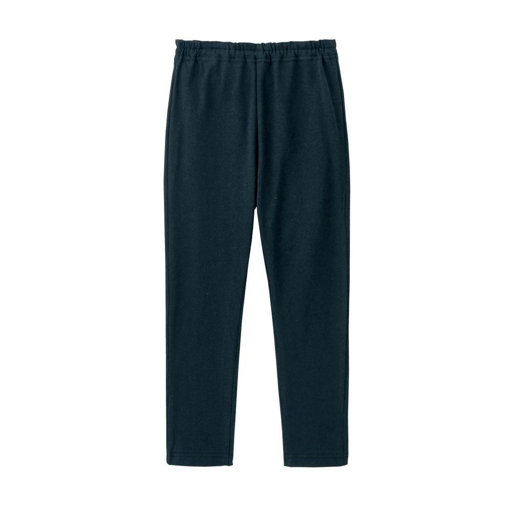 日本千趣會 - GITA 超彈力純棉10分內搭褲-黑