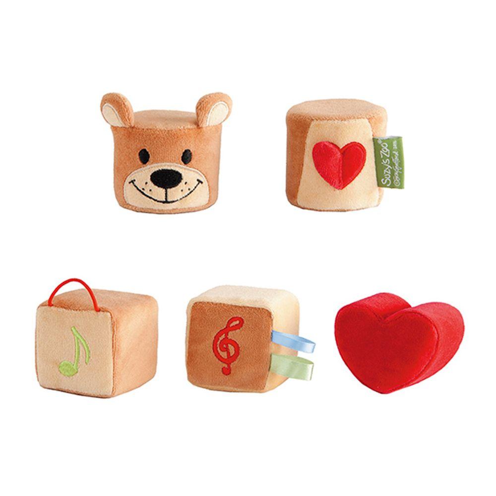 日本 People - Suzy's Zoo布玩具系列-五感立體布玩具