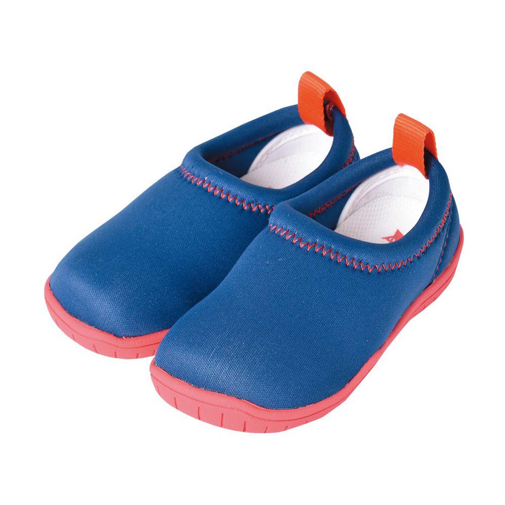 SkippOn - 兒童休閒機能鞋 - ISEAL VU系列-粉底普魯士藍