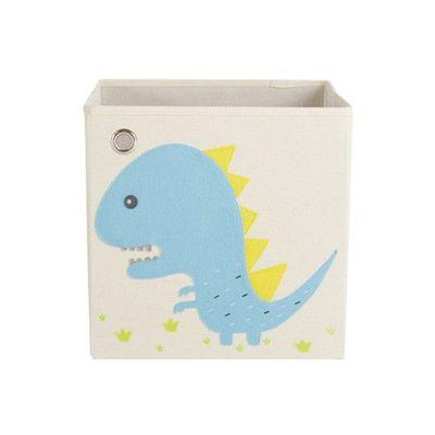 玩具收納箱-吼吼暴龍 (33x33x33cm)