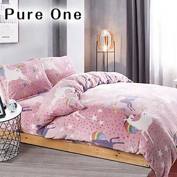 【PureOne】暖暖法蘭絨、羊羔絨被 ❤ 可愛小夜燈