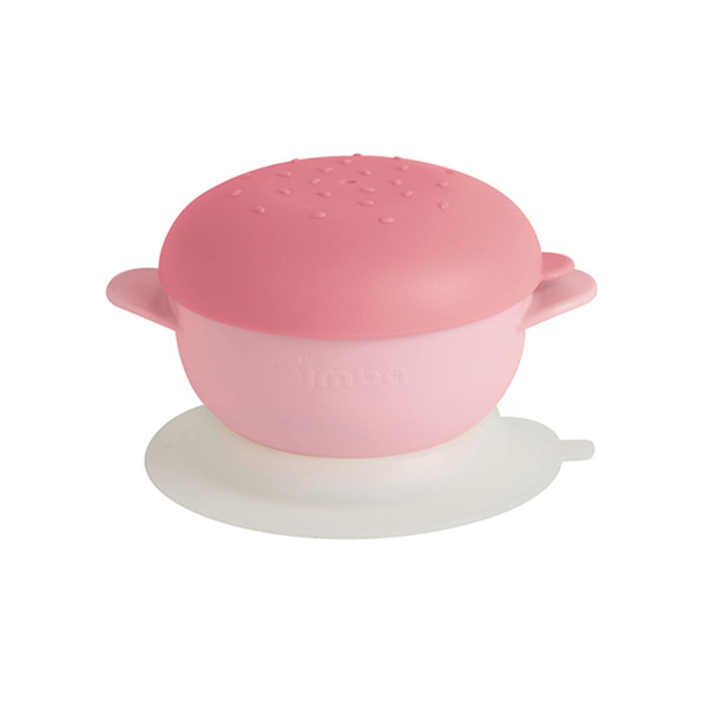 Simba 小獅王辛巴 - 美味漢堡碗-粉紅甜心堡(粉紅色)
