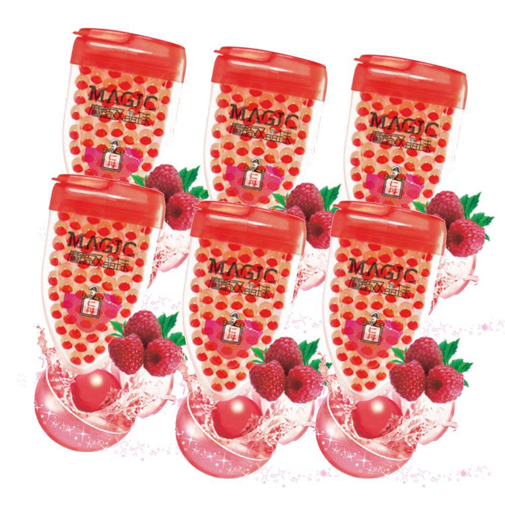 日本森下仁丹 - 魔酷雙晶球清涼錠-果香覆盆莓6入/盒-提神、醒腦、好口氣