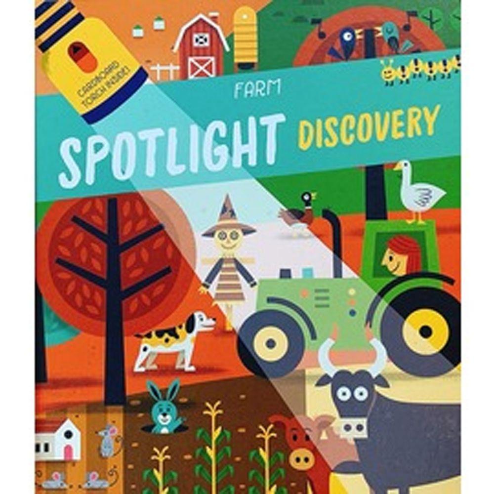 Spotlight Discovery: Farm-Cardboard Torch Inside 農場大探索(手電筒膠片書)