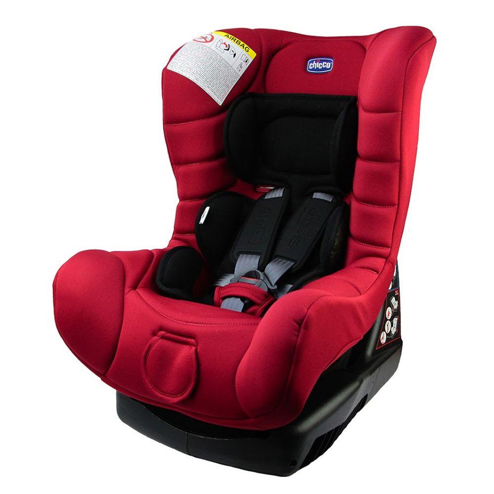 義大利 chicco - ELETTA comfort寶貝舒適全歲段安全汽座-熱火紅