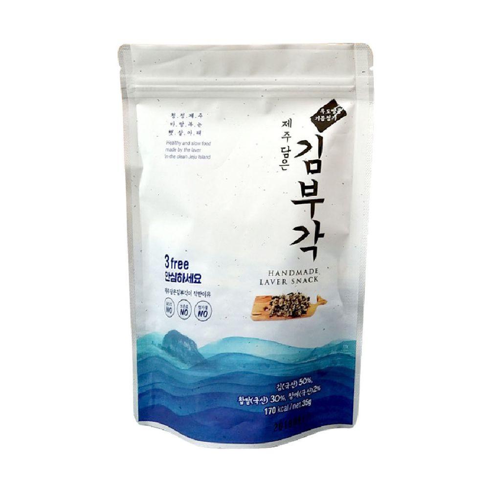 JejuMami 濟州媽咪 - 濟州大海的禮物 純手工海苔捲單入 (35g)