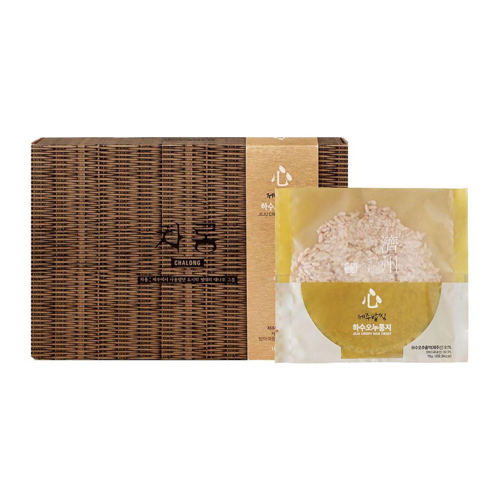 JejuMami 濟州媽咪 - 濟州之心鍋巴餅-何首烏禮盒 (10包/20片)-(有效期限 05/28/2021)