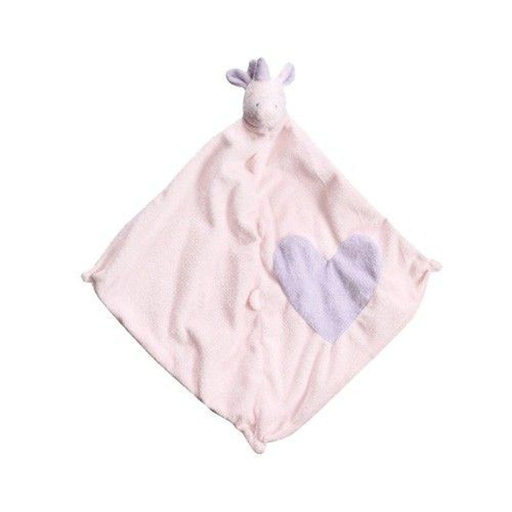 美國 Angel Dear - 動物嬰兒安撫巾-愛心獨角獸