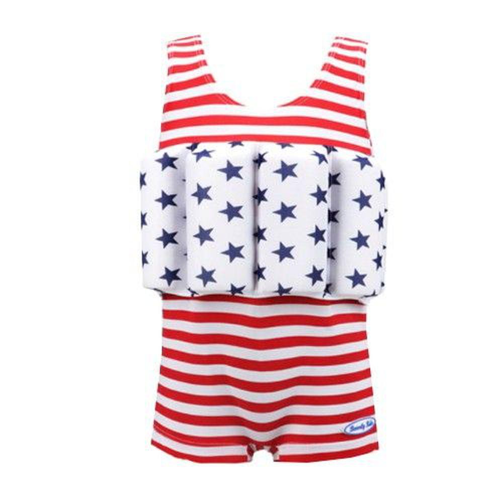 德國 BeverlyKids - 浮力泳衣-四角褲版-American Dream 美國夢