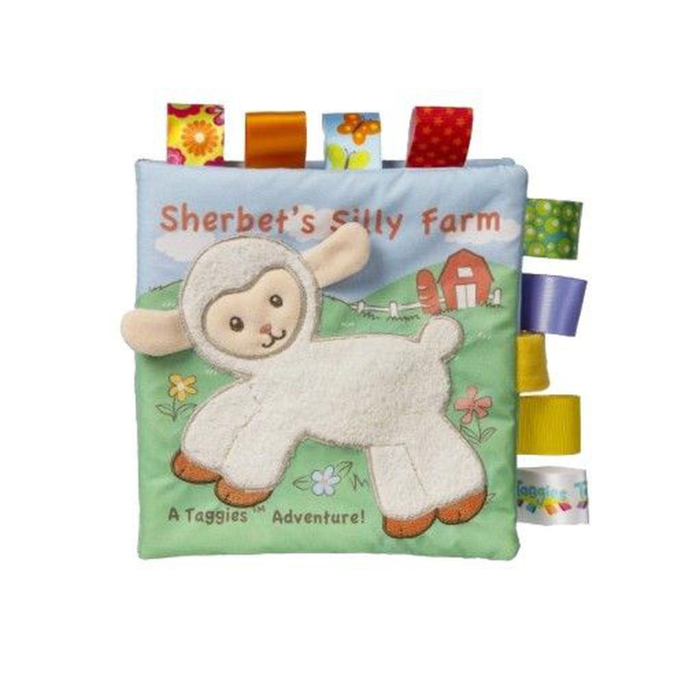 美國 MaryMeyer 蜜兒 - Baby標籤布書系列-小綿羊