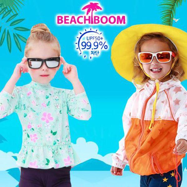 5/7 新品上市 韓國 Beach Boom UPF50+泳裝/遮陽帽/浴巾/防水包