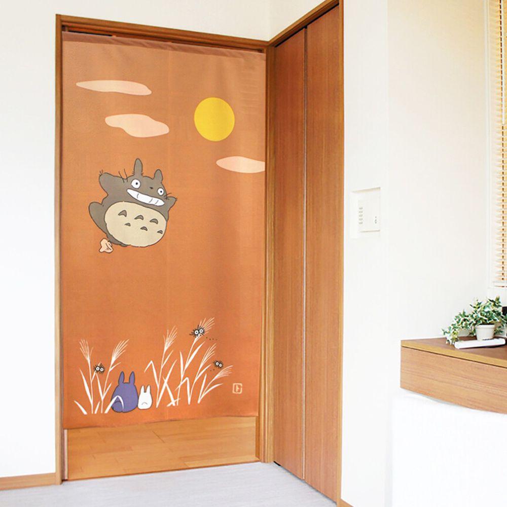 日本代購 - 日本製門簾-龍貓-月見 (85x150cm)