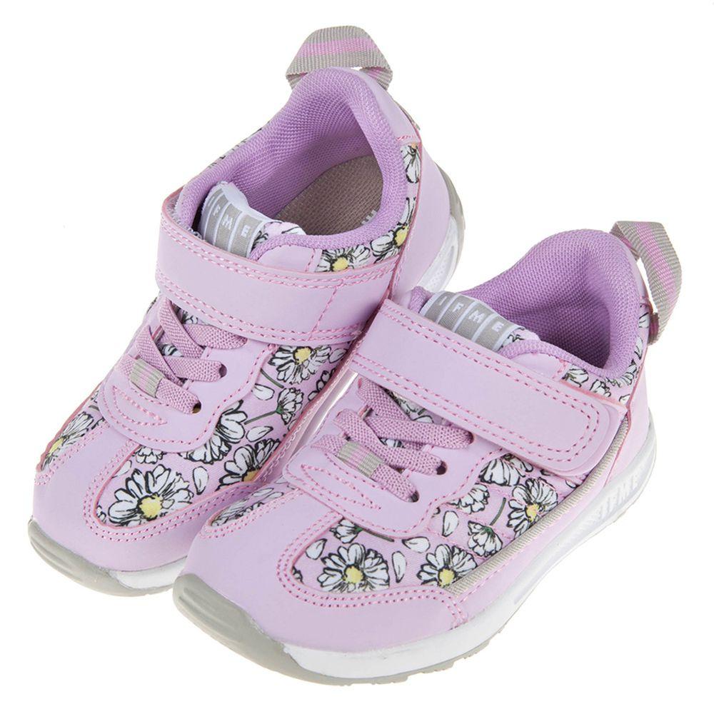 IFME - 日本IFME瑪格麗特花紫色兒童機能運動鞋