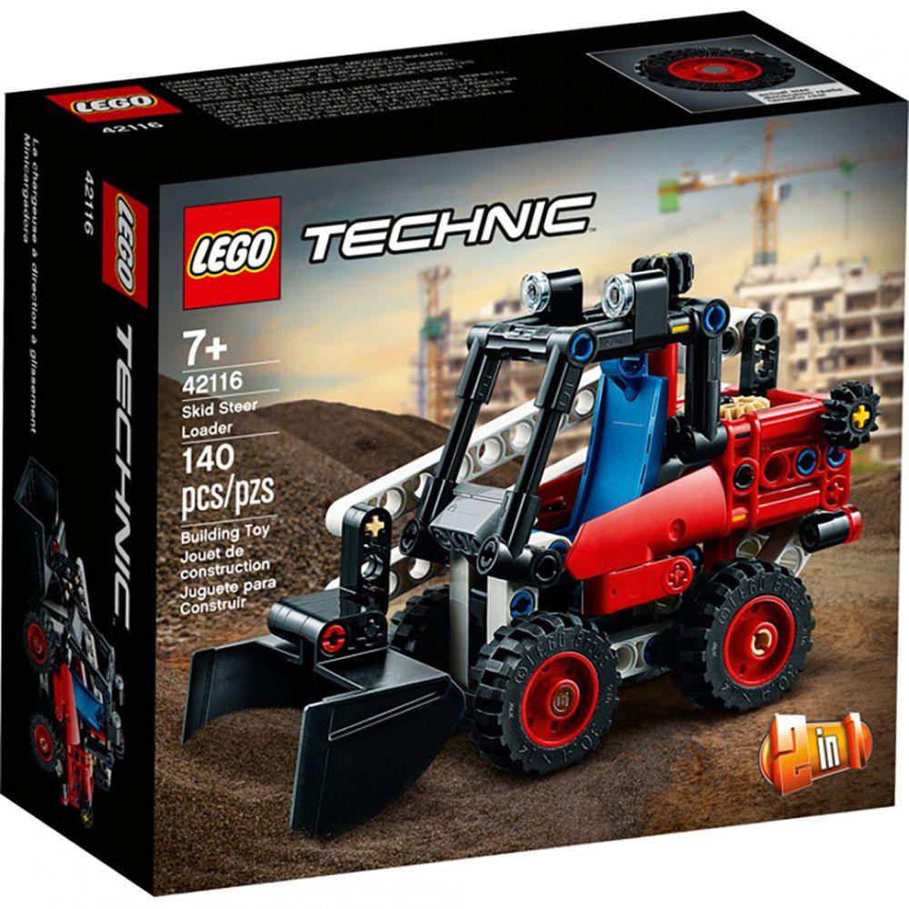 樂高 LEGO - 樂高積木 LEGO《 LT42116 》科技 Technic 系列 - 滑移鏟裝機-140pcs