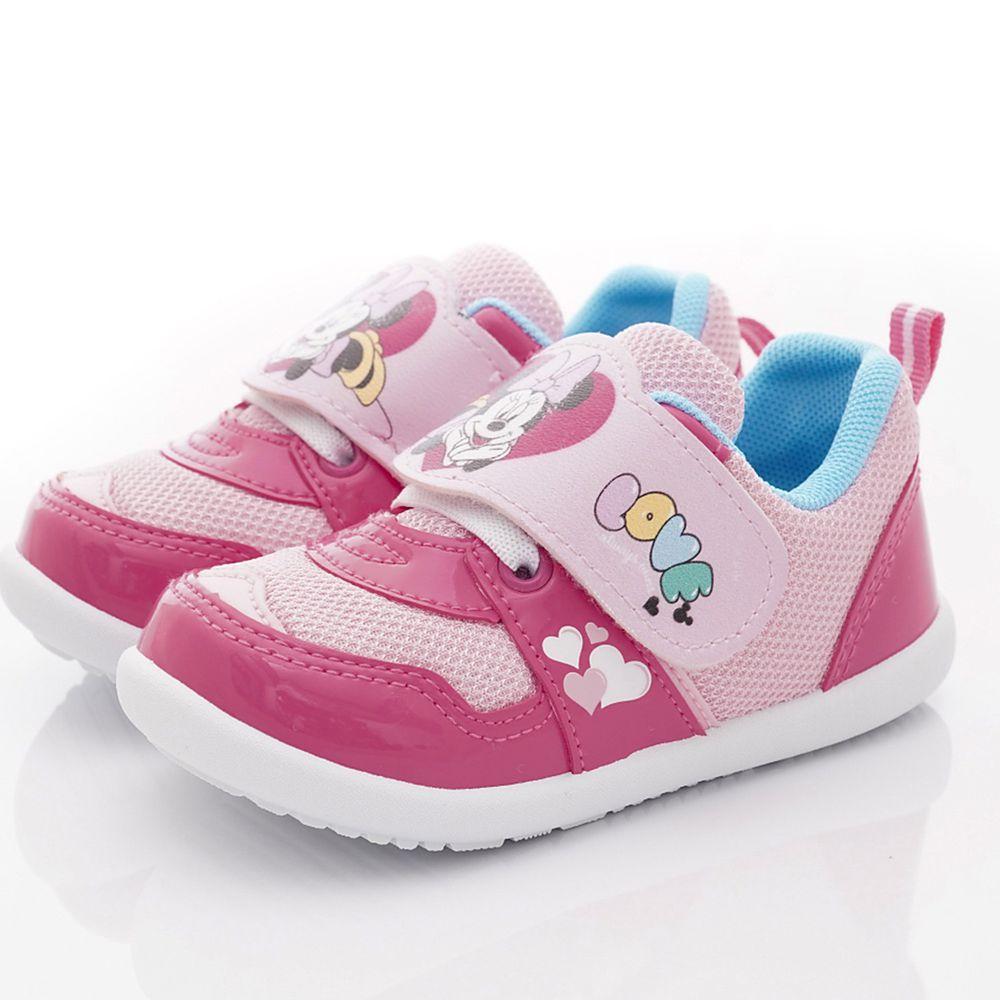 Disney - 米妮輕量運動鞋(小童段)-粉