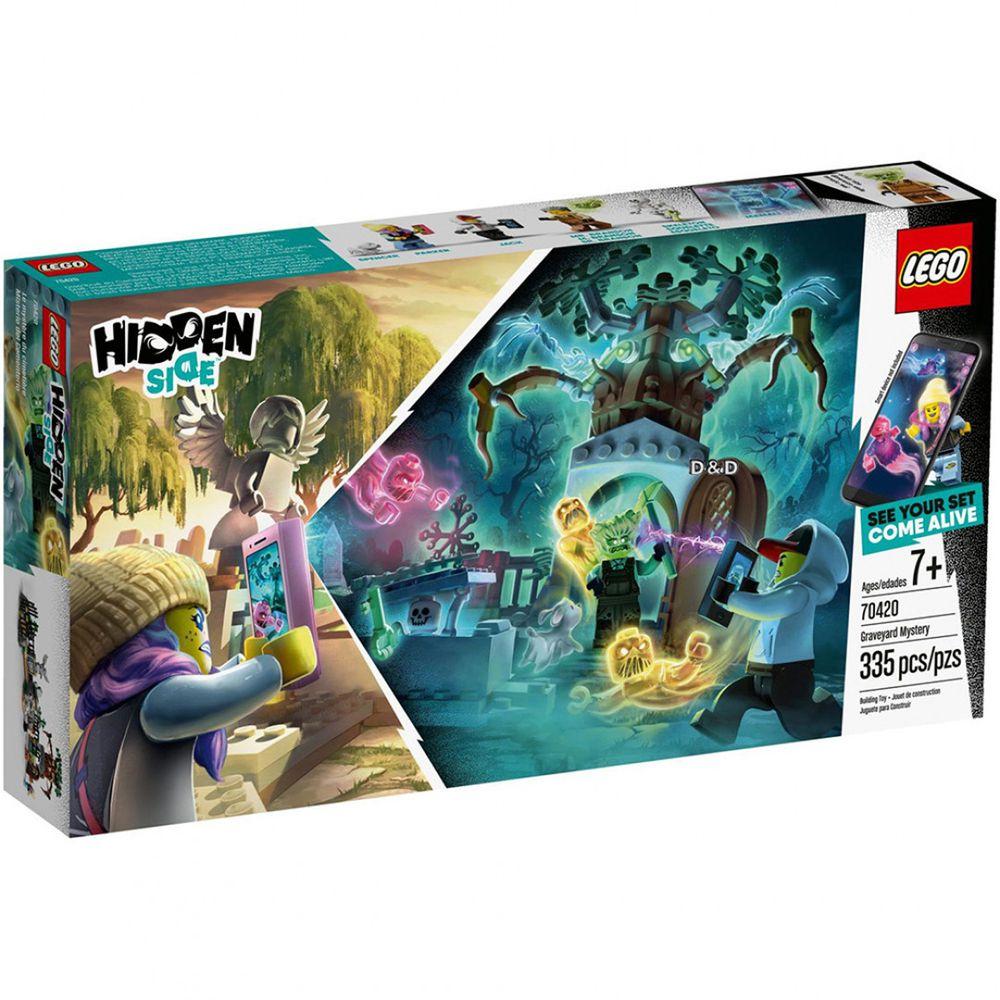 樂高 LEGO - 【新品】樂高Hidden Side幽靈祕境系列-古墓之謎 70420-335pcs