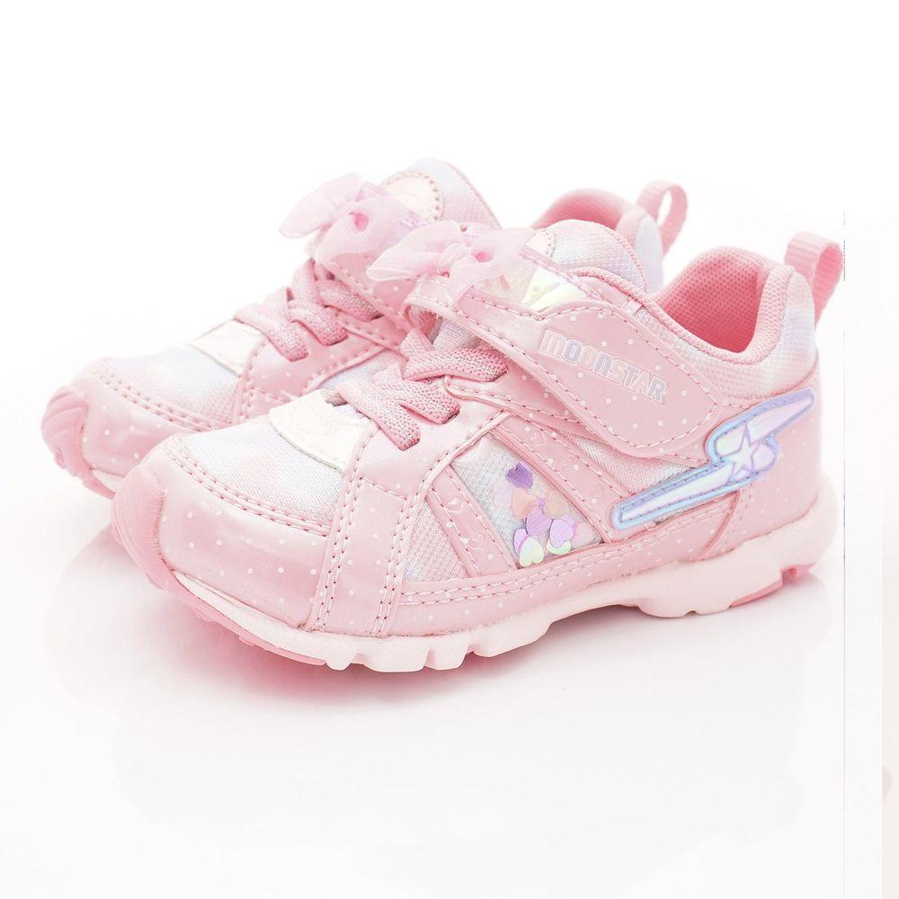 Moonstar日本月星 - 日本月星競速機能童鞋-2E競速運動款(中小童段)-粉