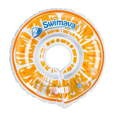G1嬰兒游泳脖圈-鮮橙 (1-18個月,13kg以內)