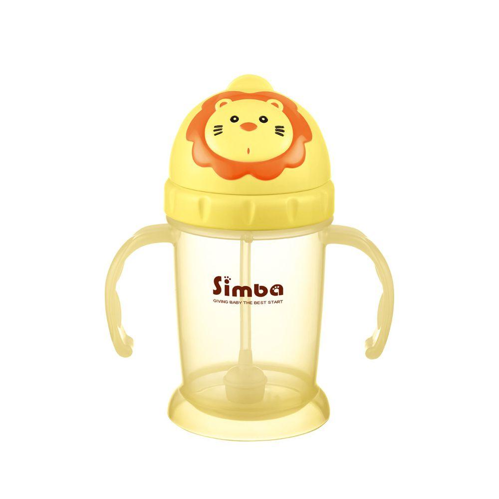 Simba 小獅王辛巴 - 辛巴滑蓋樂活杯-經典黃(新款)
