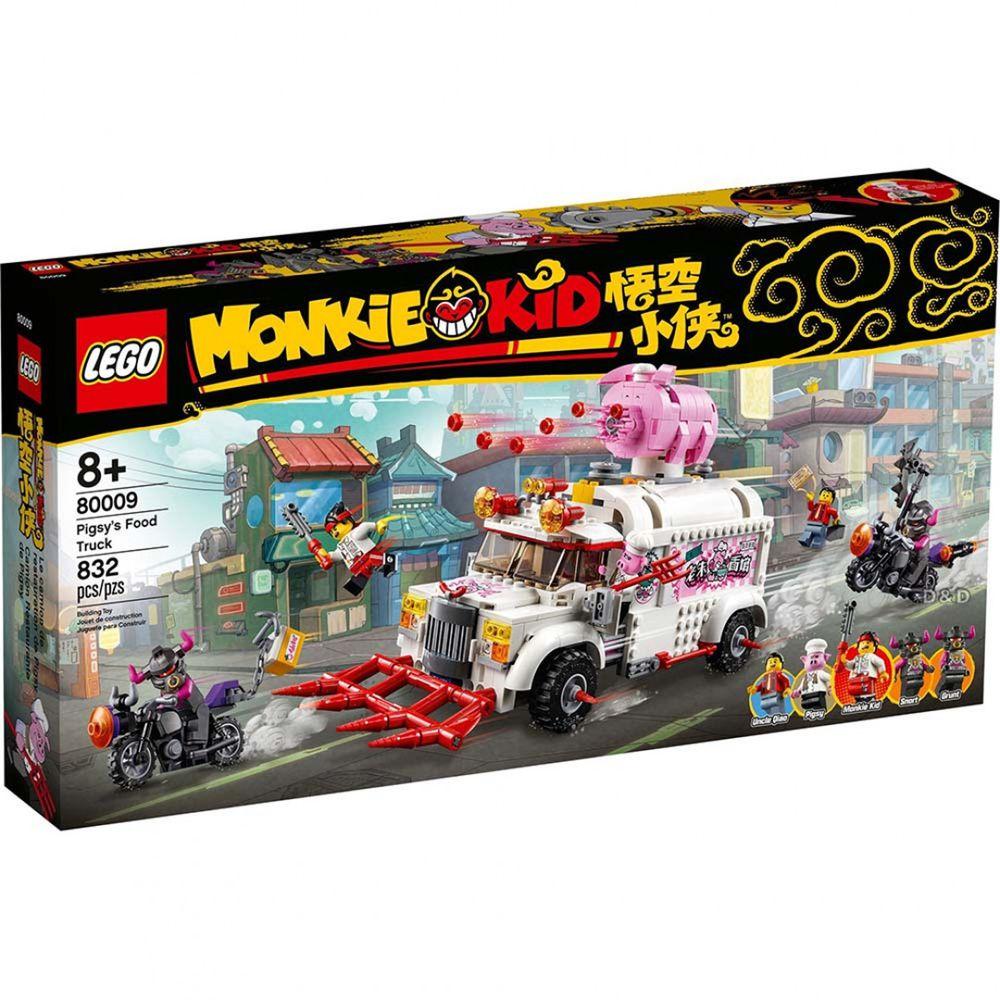 樂高 LEGO - 樂高積木 LEGO《 LT80009 》悟空小俠系列 朱大廚移動釘耙車-832pcs