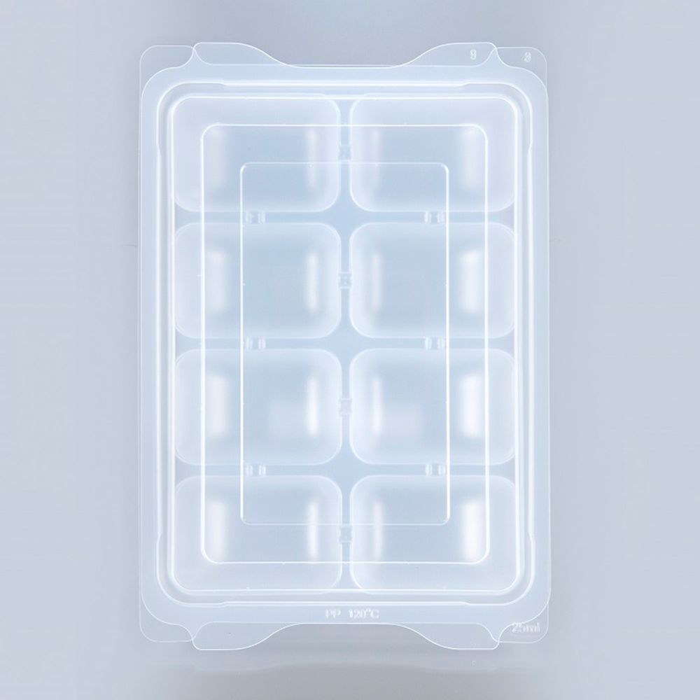 akachan honpo - 離乳食品冷凍保存盒 (M號)-25mlx8格