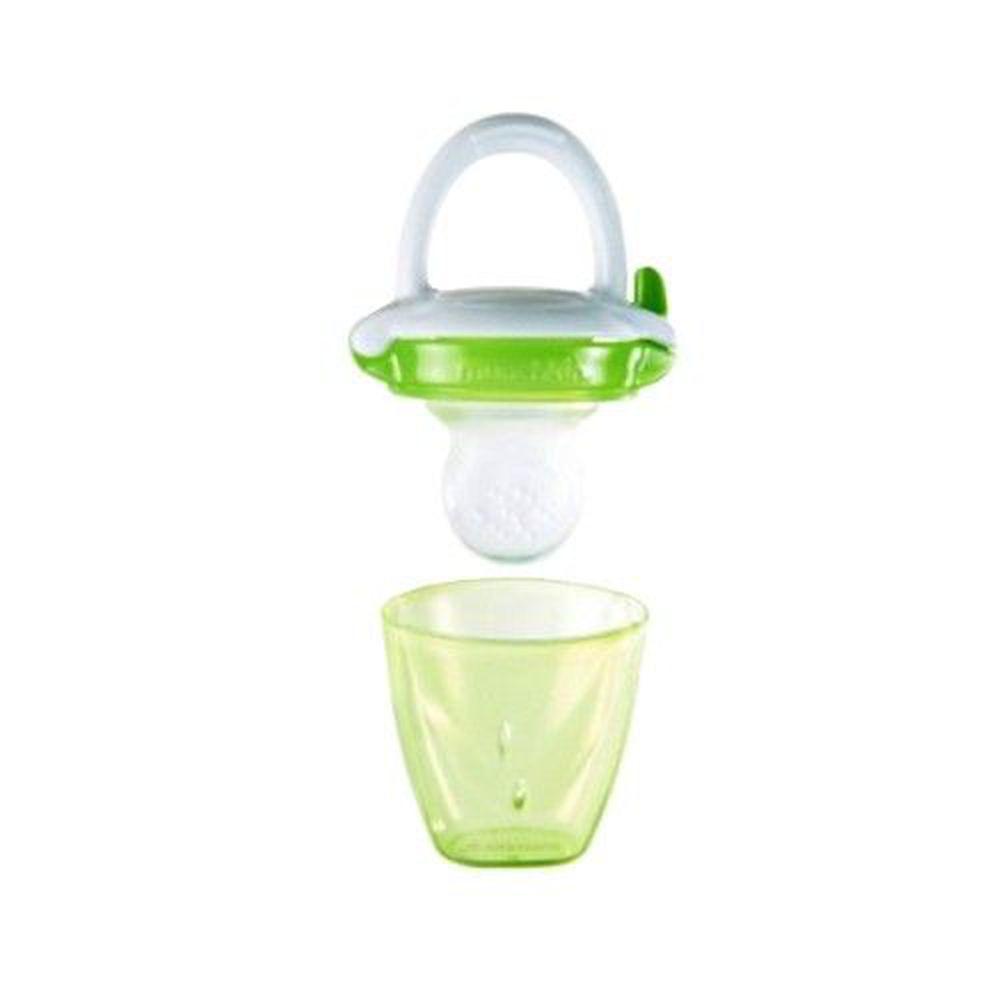 美國 munchkin - 嬰兒新鮮食物咬咬樂-綠 (4M+)