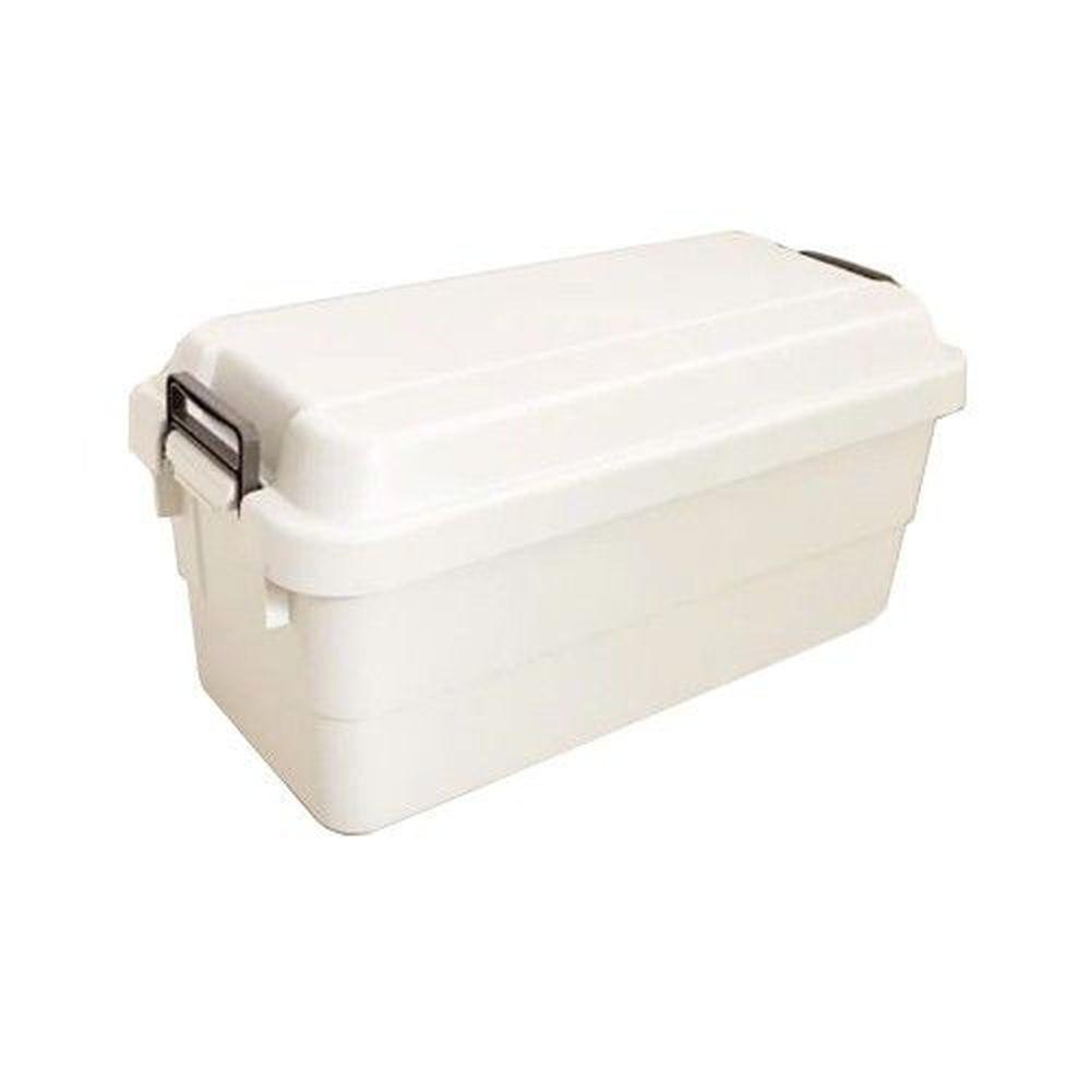 日本 RISU - TRUNK CARGO 多功能環保耐重收納箱-白色-70L