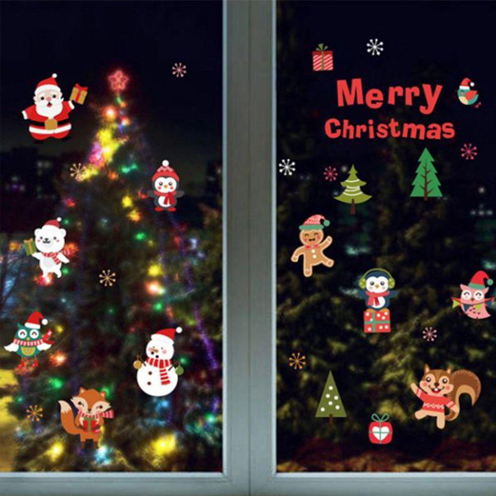 JB Design - 時尚壁貼-可愛版聖誕節 (60cm*45cm)