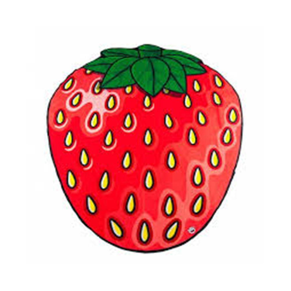 美國 Big Mouth - 造型海灘毯-草莓款
