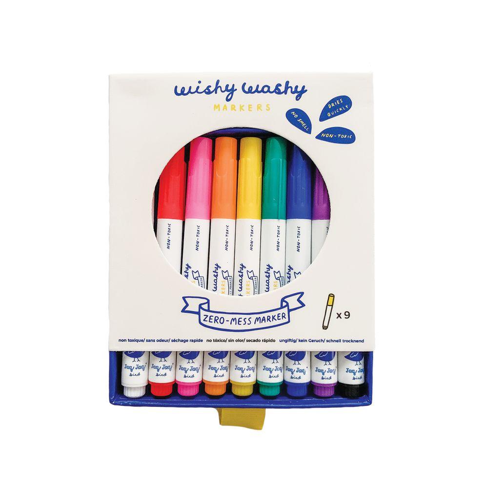 美國Jaq Jaq Bird - 無毒可擦拭水性筆