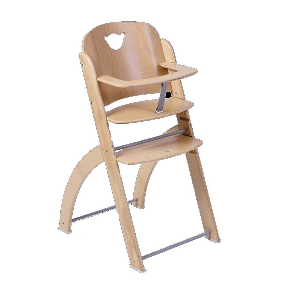 義大利 Pali - Pappy Re 熊寶寶成長餐椅-原木-單椅