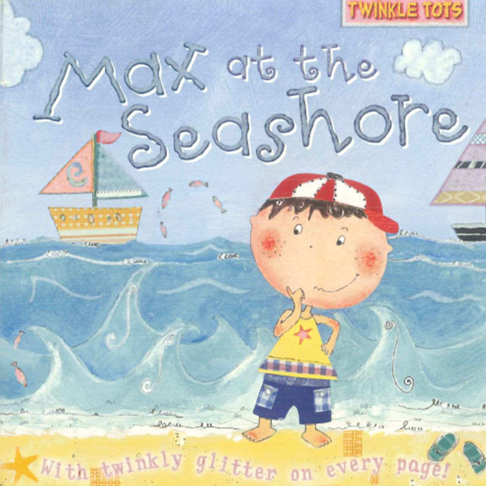 Max at the Seashore 硬頁書