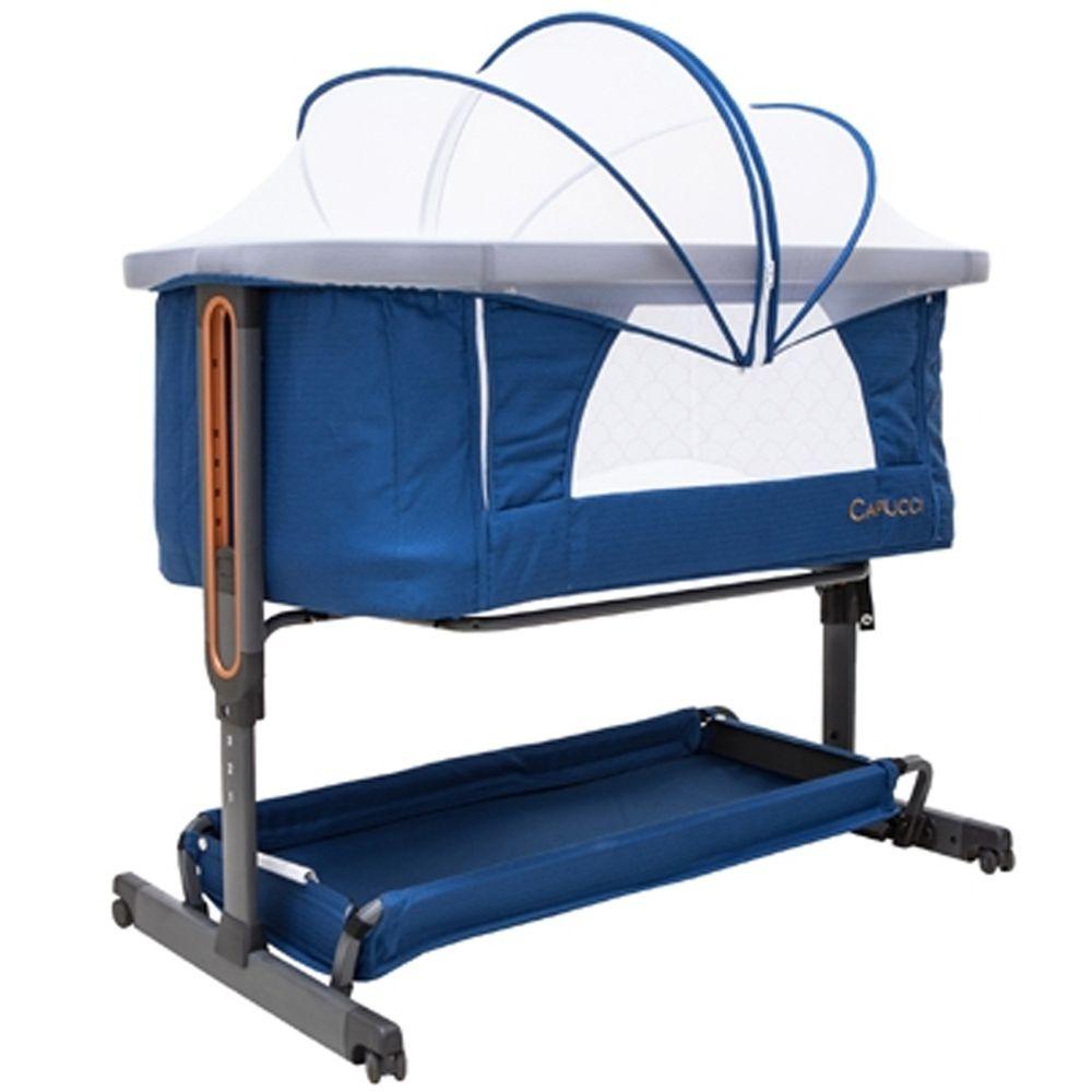 美國卡普奇Capucci - 嬰兒床邊床-藍