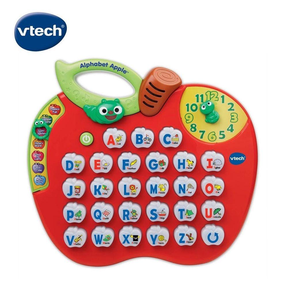 Vtech - 電子學習機系列- 蘋果字母學習機(新版)