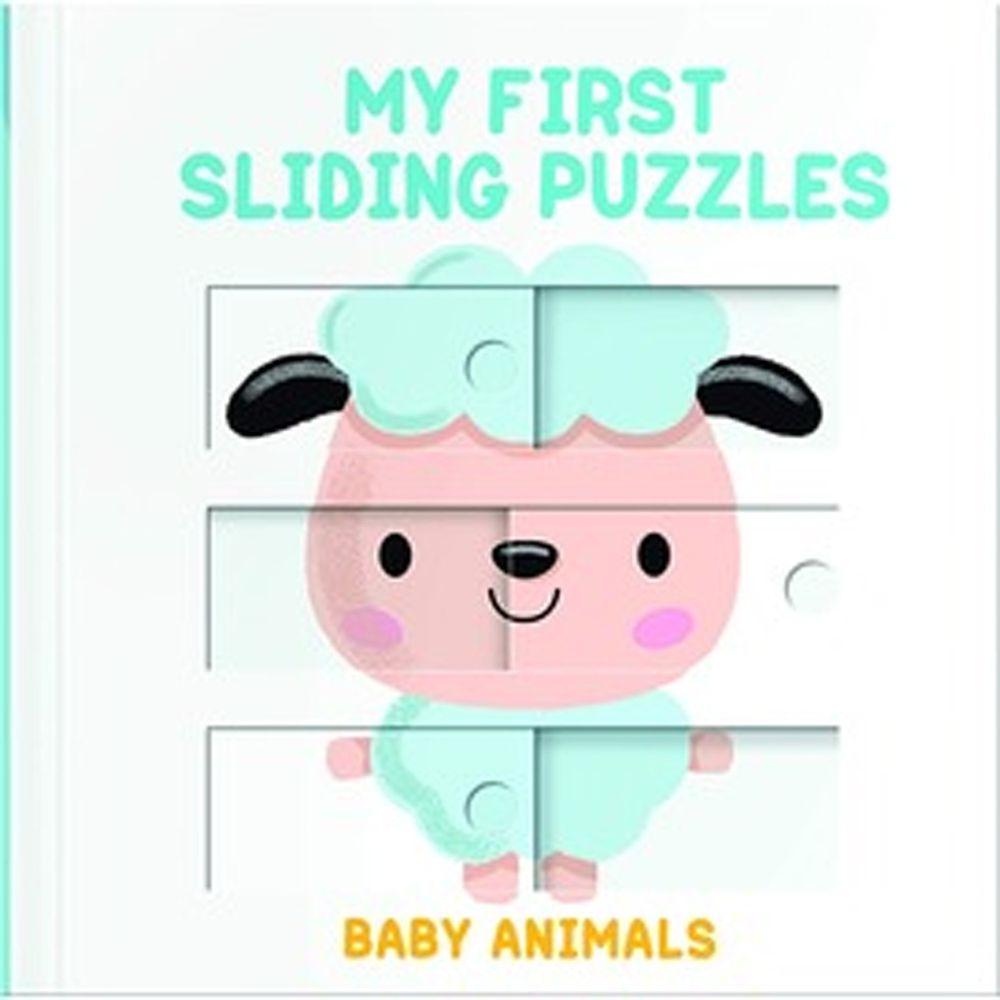 My First Sliding Puzzles Baby Animals 滑動拼圖書:動物寶寶