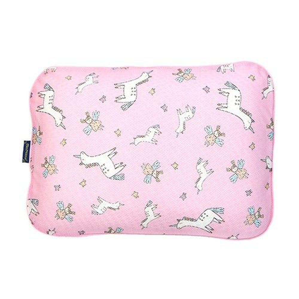 韓國 GIO Pillow - 超透氣防螨兒童枕頭-單枕套組-夢幻小馬 (L號)-2歲以上適用