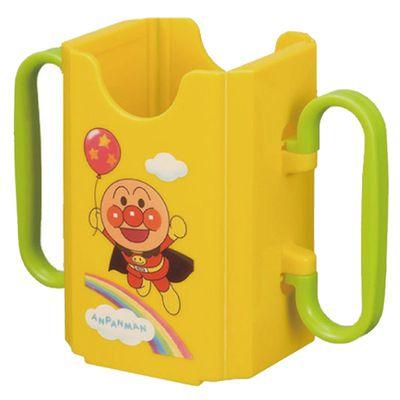 AN麵包超人利樂包飲料輔助器(有手把)-黃