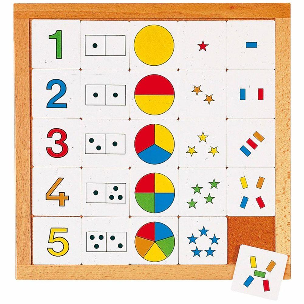 EDUCO - 數字分組卡片遊戲1-5