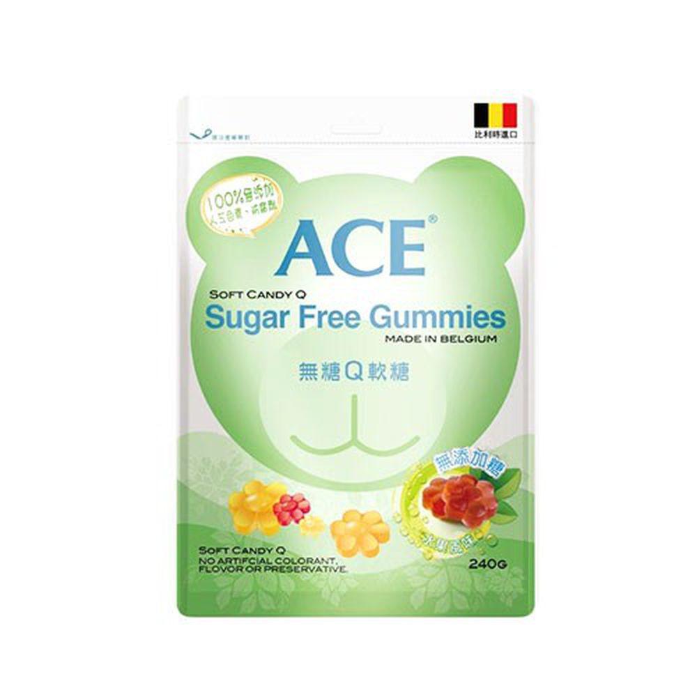 ACE - 無糖Q軟糖-240g/袋