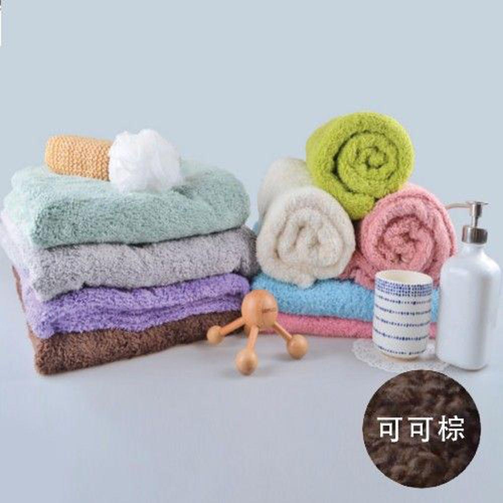 貝柔 Peilou - 超強十倍吸水超細纖維抗菌大浴巾-可可棕 (140x76cm)