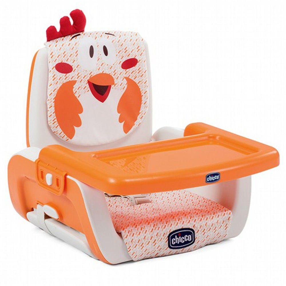 義大利 chicco - Mode攜帶式兒童餐椅-咕咕公雞