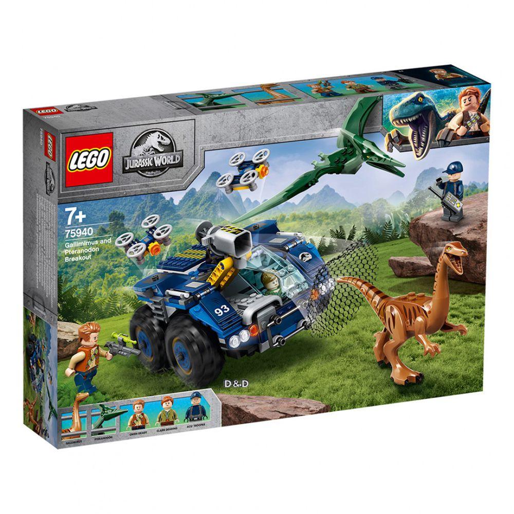 樂高 LEGO - 樂高積木 LEGO《 LT75940 》Jurassic World 侏儸紀世界系列 - Gallimimus and Pteranodon Breakout-391pcs
