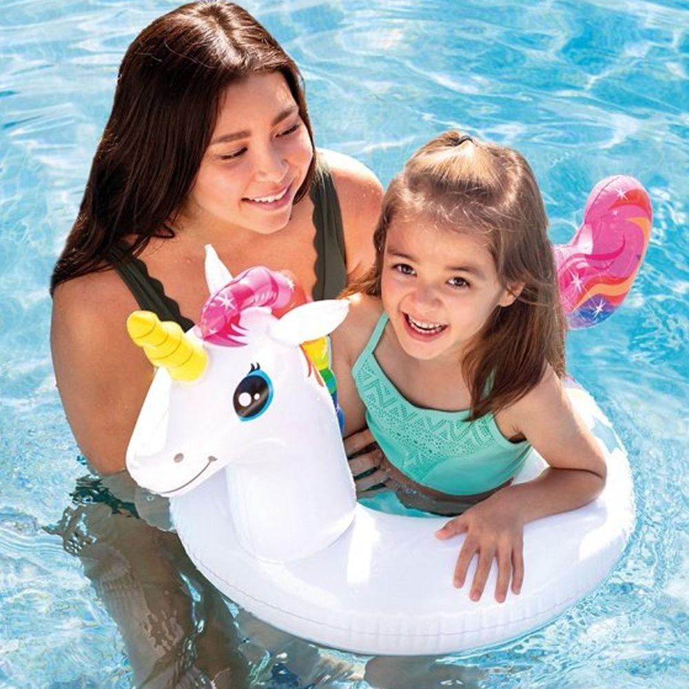 INTEX - 【限量促銷】INTEX 造型游泳圈 適用3-6歲 (58221)-獨角獸