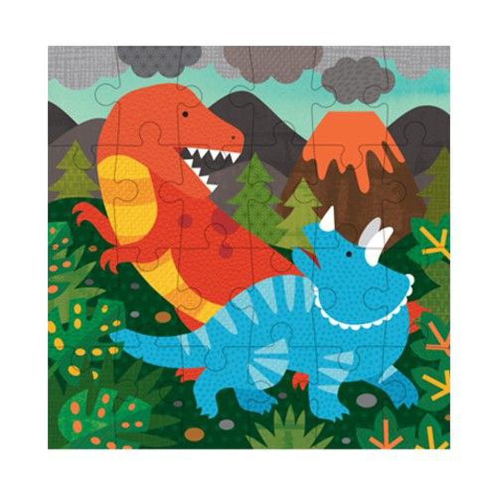 美國 Petit Collage - 小拼圖-恐龍-24片