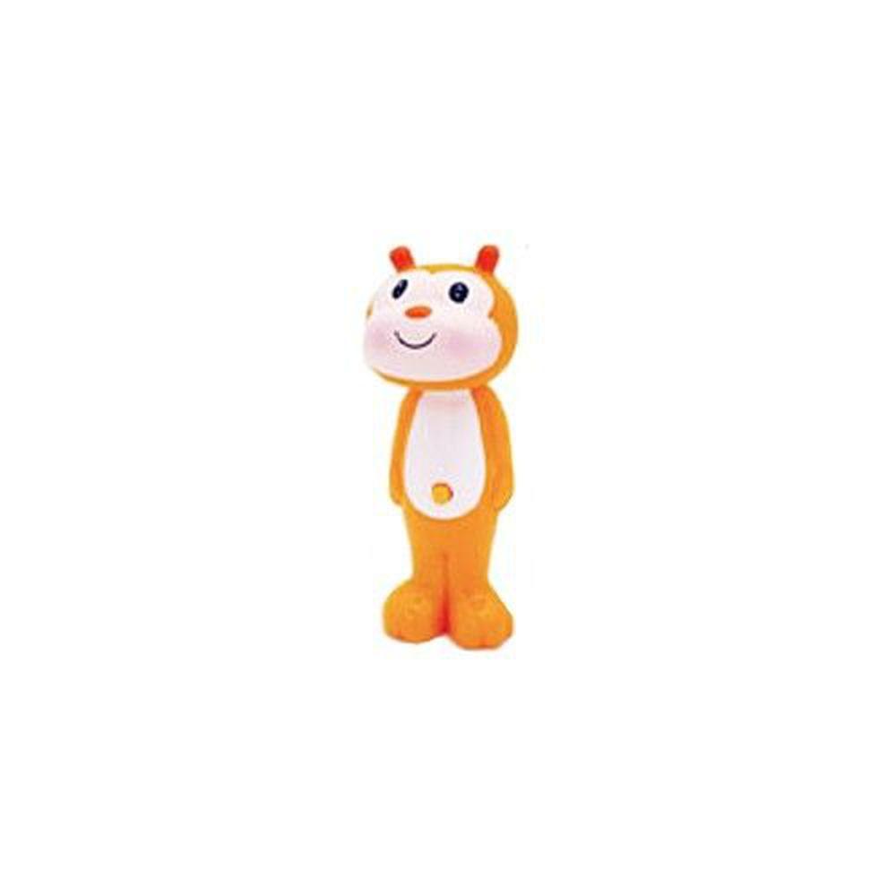 日本 U-COMPANY - Bounce up 彈跳牙刷-小蜜蜂-黃